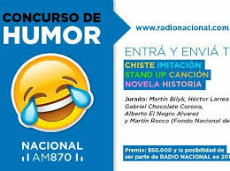 Concurso de humor en Radio Nacional
