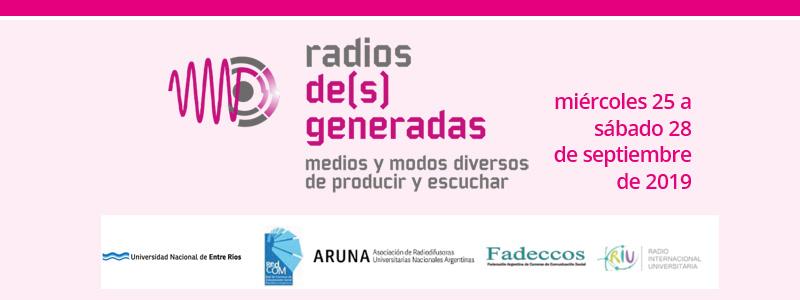 "Jornadas ""La Radio del Nuevo Siglo"""